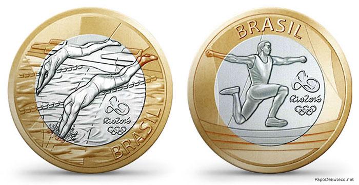 moedas-comemorativas-Rio-2016-natacao-atletismo-papodebuteco