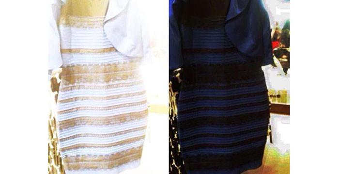 Vestido preto branco azul