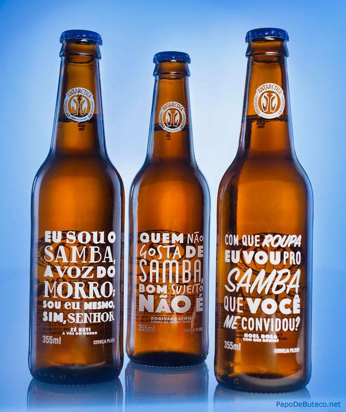 cerveja-antarctica-lanca-garrafas-com-trechos-de-classicos-do-samba-estampados
