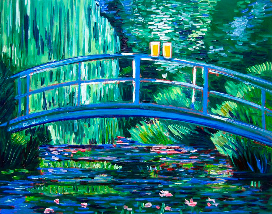 """The Water Lily Pond"", de Claude Monet"